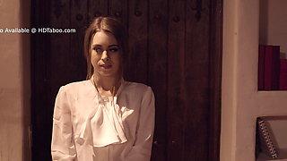 Submissive Secretary Serves Her Boss