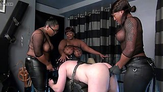 fucked by three blacks dominas