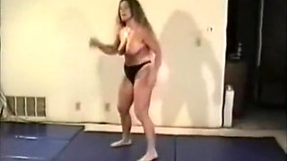 topless wrestling