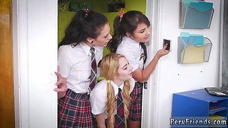 Dirty group and school bus orgy After School Detention