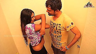 Hot Indian mallu House wife romancing with an electrician
