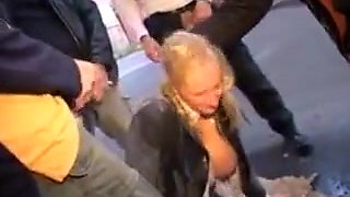 German piss abuse