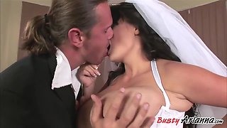 The Hottest Bride With Lovely Titties