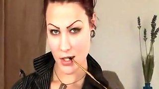 Exotic pornstar in crazy straight, smoking porn scene