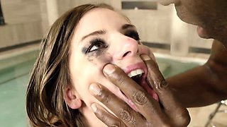 HER LIMIT - Stella Cox in brutal DP threesome with two BBCs