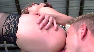 Sexy Secretary Chanel Preston Enjoys Dicking By Hung Boss