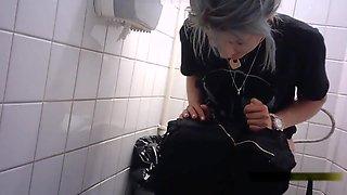 Teen Toilet spycam