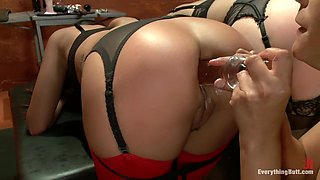 Hottest fisting, fetish sex movie with best pornstars Angell Summers, Francesca Le and Kirsten Price from Everythingbutt