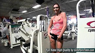 Bailey teen ftv the gym and ends up flashing everywhere