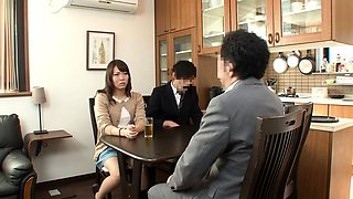 Japanese sluts having dirty time with their BFs passed out