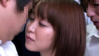 Yuu Shinoda, Yuka Kojima, ASUKA 2, Yuna Shiratori in Frustrated Housewife on the Bus 1 part 2