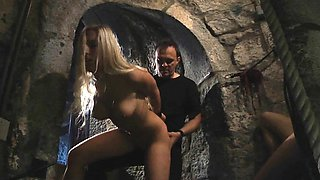 Punished and prisoners in the castle of bdsm fetish