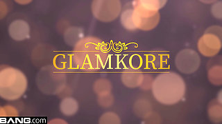 BANG Glamkore - Glam socialite Naomi Bennet gets a mouthful of cum