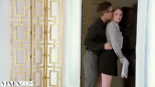 Mick Blue, Kinky Secretary And Ashley Lane In Gets Tied Up And Copulated By Her Boss