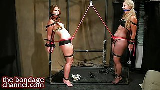 Two tied girls 2