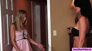 Teen Chastity fucked by her Babysitter