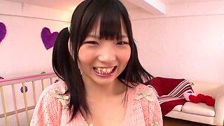 Exotic Japanese girl Ichigo Tominaga in Incredible JAV censored Facial, College clip