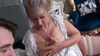 Vera Sternova - Horny Granny Needs Some Young Cock