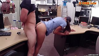 Hot desperate nurse will do anything for some money