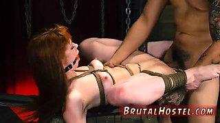 Kink device bondage and huge cock fuck guys extreme Sexy young girls Alexa Nova and