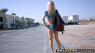 Brazzers - Big Tits at Work - Daddys Hardest Worker scene starring Alix Lynx and Danny D