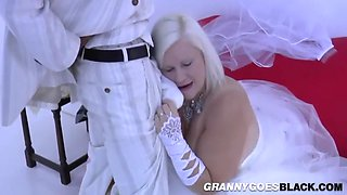 Mature Bride Gives Head And Rides Black Cock With Lacey Starr