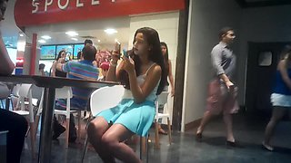 Novinhas no shopping