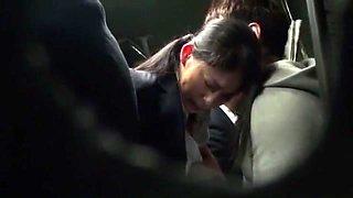 Fabulous Japanese slut Natsume Inagawa, Kanon Takigawa, Riko Miyase in Horny Bus JAV scene