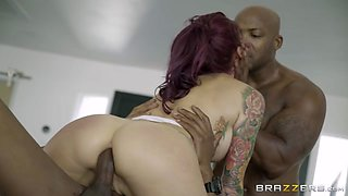 Monique Alexander & Isiah Maxwell & Nat Turnher in Moniques Secret Spa: Part 4 - Brazzers