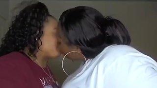 Bbws kissing