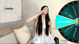 Chinese girl seducing fans