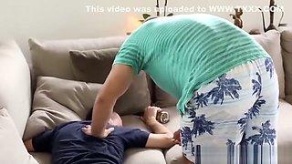 Amazing teen Kimberly Brix cheats on her sleeping boyfriend