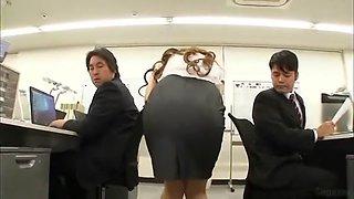 Fabulous Japanese slut Hitomi Tanaka in Hottest POV, Office JAV video