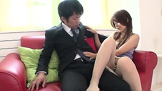 Rosa Kawashima ends with sperm in mouth after great BJ