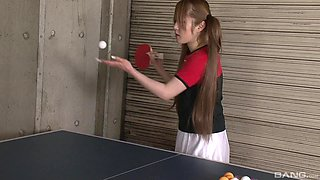 Long haired Japanese Ria Sakurai pussy abused and forced to suck cock