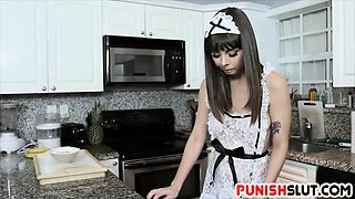 Obedient Maid Disciplined Hard By Master