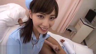 Japanese nurse fucks 2 patients