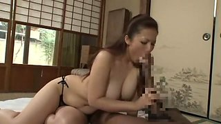 Horny Japanese girl Meisa Hanai in Crazy Big Dick, Dildos/Toys JAV clip