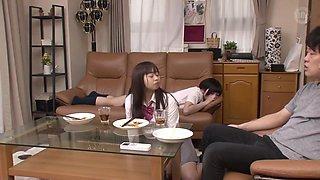 The Air Conditioner Broke - Asian Japanese Schoolgirl