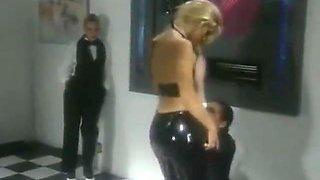 Jill Kelly Latex Pants Group Sex