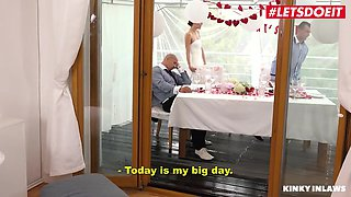 Bride Gets Cold Feet And Cheats With Step-son - Cindy Shine