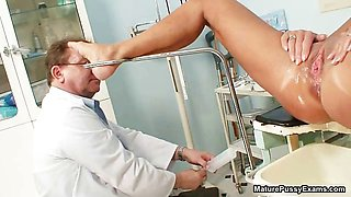 Horny old doctor abusing part5