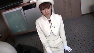 Best Japanese chick Yuzu Shiina in Exotic Blowjob, Stockings JAV clip