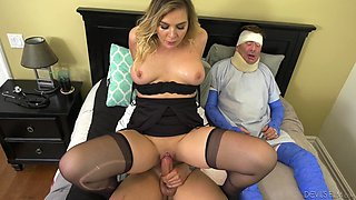 Hot cuckolding moments with Blair Williams, Kyle Stone and Alex Legend