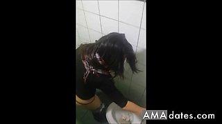Hidden Cam Toilet 3 Girls - 12
