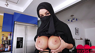 Victoria June In Busty Arabic Teen Violates Her Religion