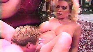 Hungry 2 Foursome With Alexis Devell, Peter North And Samantha Strong
