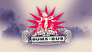BUMS BUS Busty - Czech MILF Jarushka Ross Rides Cock On Van
