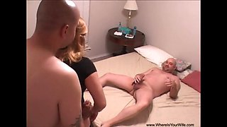 Mexican Granny Gets DP Butt Fucked