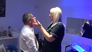 School Nurse Linda deals with a very naughty pupil
